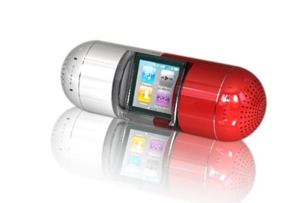Nowe głośniki do iPoda Nano grają nieźle i wygladają oryginalnie (Fot. MyGavio) /materiały prasowe