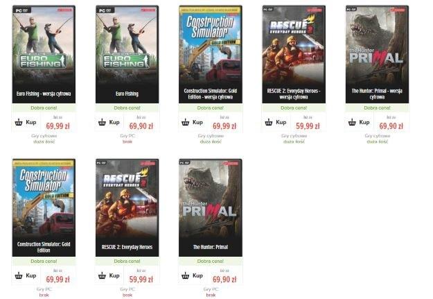 Nowe gry można m.in. kupić w sklepie gram.pl /materiały prasowe