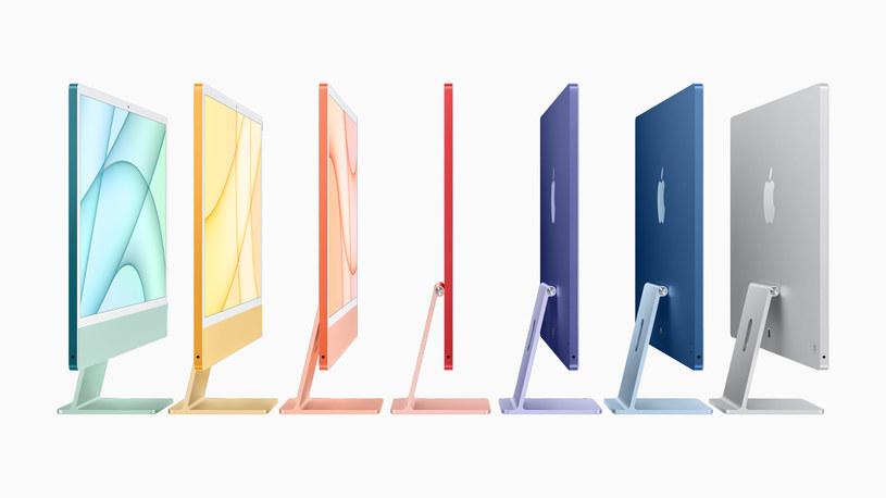 Nowe komputery iMac /materiały prasowe