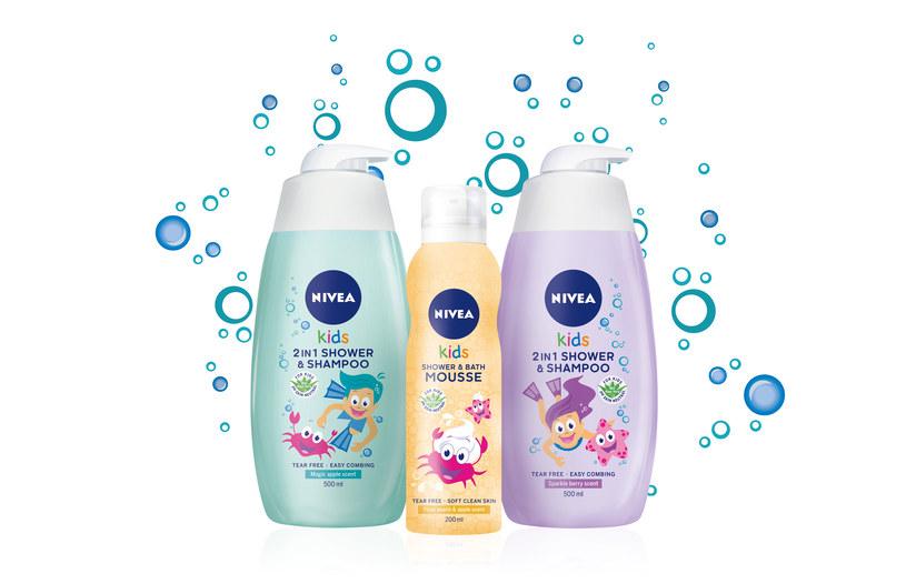 Nowe kosmetyki do kąpieli NIVEA Baby /materiały prasowe