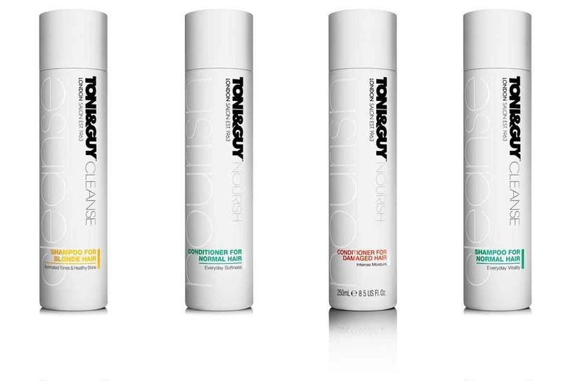 Nowe kosmetyki salonowej marki fryzjerskiej Toni&Guy /materiały prasowe