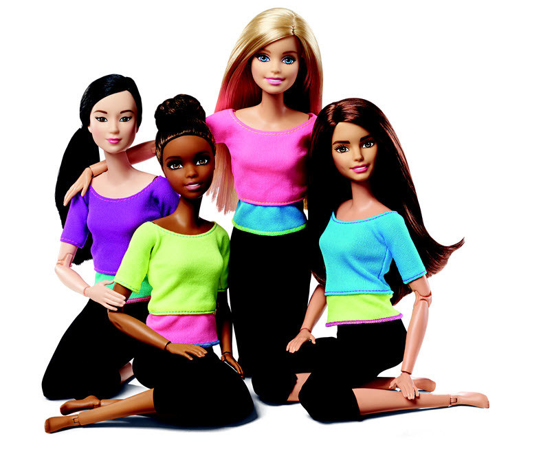 Nowe lalki Barbie /materiały prasowe
