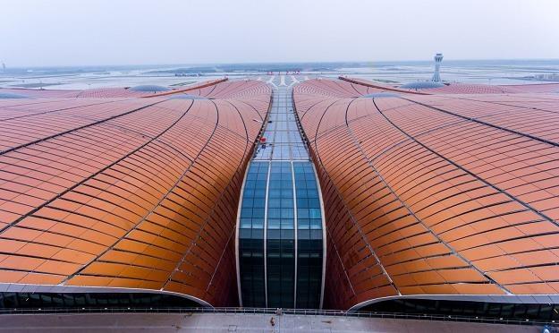Nowe lotnisko Pekin-Daxing /AFP
