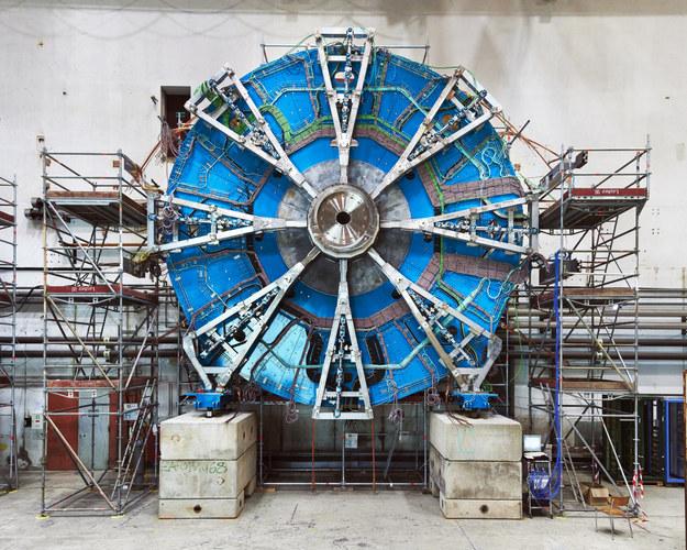Nowe małe koło detektorów mionowych /Julien Marius Orden /CERN /Materiały prasowe