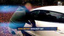 """Nowe metody kradzieży aut. Spowiedź włamywacza w """"Raporcie"""""""