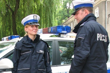 Nowe mundury policji /Policja
