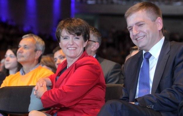 Nowe nabytki PO - Joanna Kluzik-Rostkowska i Bartosz Arłukowicz, fot. Jan Kucharzyk /East News