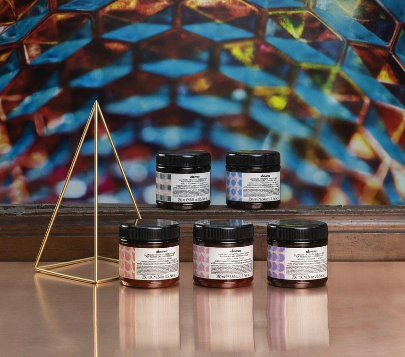 Nowe odżywki koloryzujące Davines Alchemic /INTERIA.PL/materiały prasowe