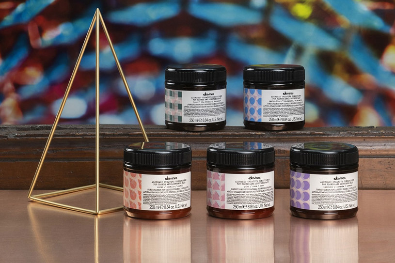 Nowe odżywki koloryzujące Davines Alchemic /materiały prasowe