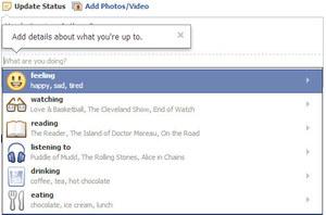 Nowe opcje w statusach na Facebooku