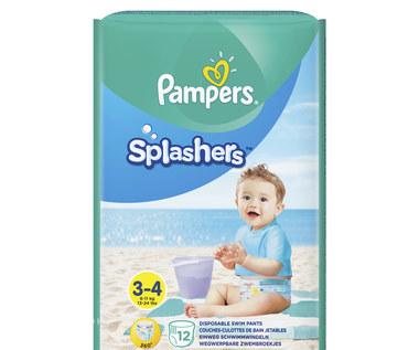 Nowe pieluchomajtki do pływania Pampers Splashers!
