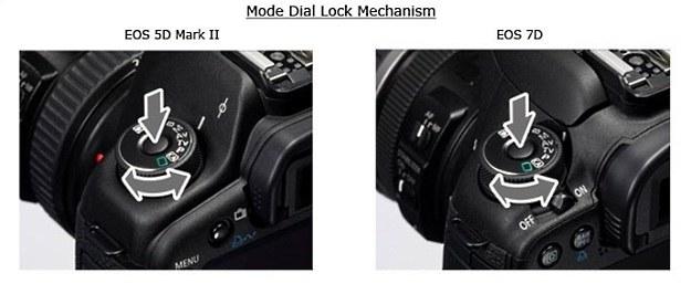 Nowe pokrętła w Canonie 5D Mark II i 7D /materiały prasowe