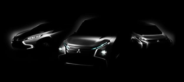 Nowe prototypy Mitsubishi /