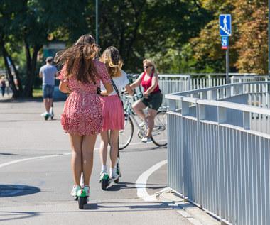 Nowe przepisy dla hulajnóg. Mają jeździć ulicami!