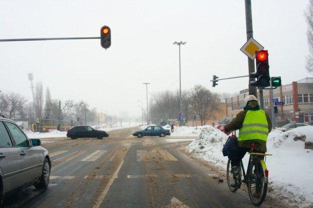 Nowe przepisy mają chronić rowerzystów / Fot: Mikołaj Zacharow /Reporter