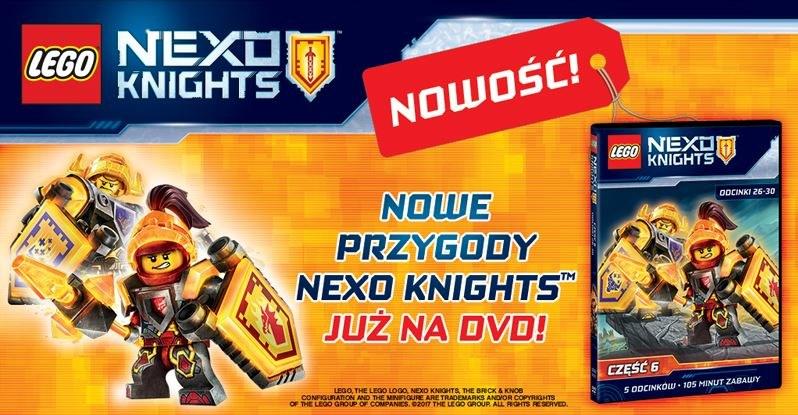 Nowe przygody LEGO Nexo Knights /materiały prasowe