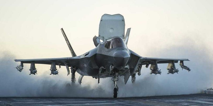 Nowe rakiety mogą trafić na wyposażenie samolotów F-35 /Lockheed Martin /materiały prasowe