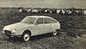 Nowe samochody: Citroen GS