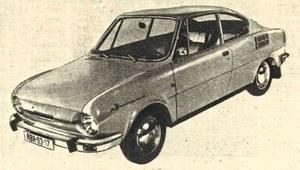 Nowe samochody: Skoda 110 R Coupe