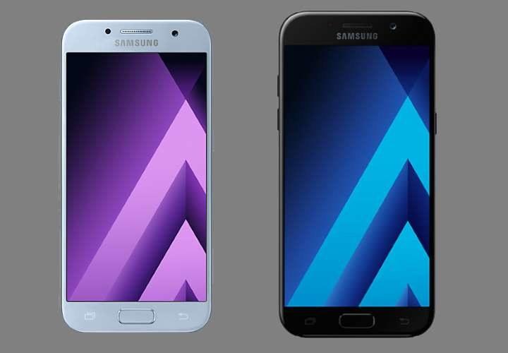 Nowe Samsung Galaxy A3 (po lewej) i Galaxy A5 /materiały prasowe