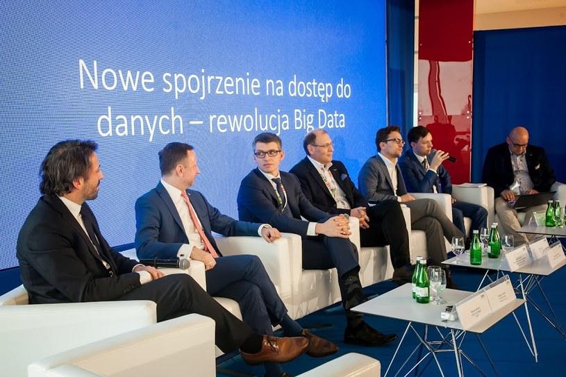 """""""Nowe spojrzenie na dostęp do danych - rewolucja Big Data"""" panel podczas Kongresu 590 w Jasionce /Ireneusz Rek /INTERIA.PL"""