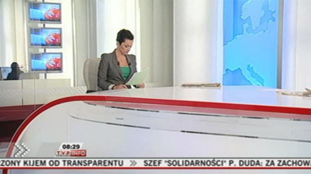 Nowe studio serwisu TVP Info /    /TVP