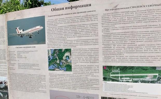 """Nowe tablice na miejscu katastrofy smoleńskiej. """"Polski konsulat nie był zainteresowany"""""""