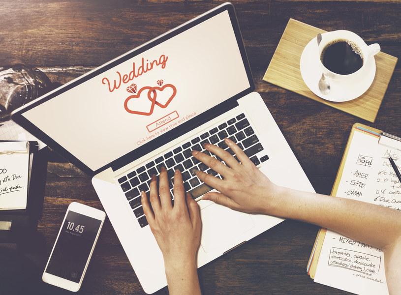 Nowe technologie mogą ułatwić planowanie wesela /123RF/PICSEL