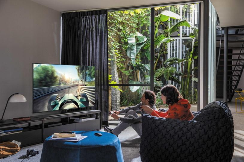 Nowe telewizory QLED Samsunga zostały stworzone z myślą o graczach /materiały promocyjne