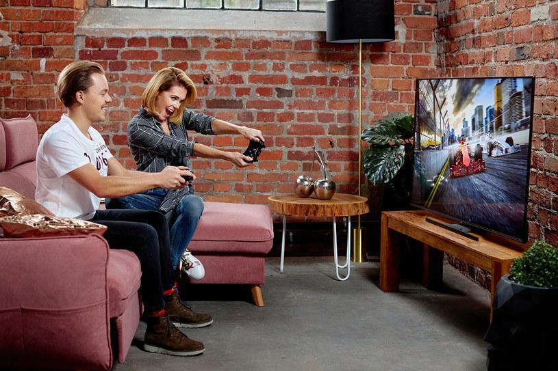 Nowe telewizory są pozycjonowane jako propozycja dla m.in. graczy /materiały prasowe