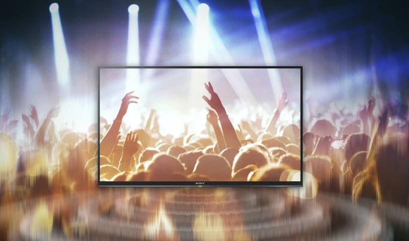 Nowe telewizory Sony emitują dźwięk wprost z ekranu. /materiały prasowe