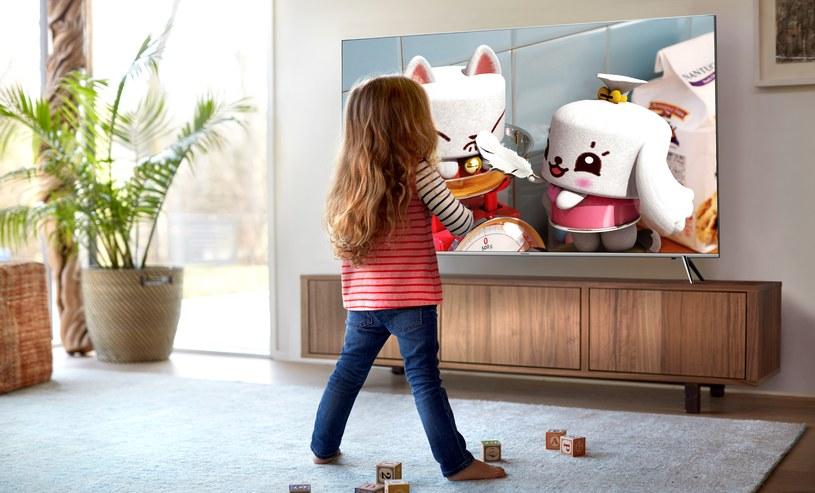 Nowe telewizory SUHD dostępne w Polsce mają płaskie ekrany /materiały prasowe
