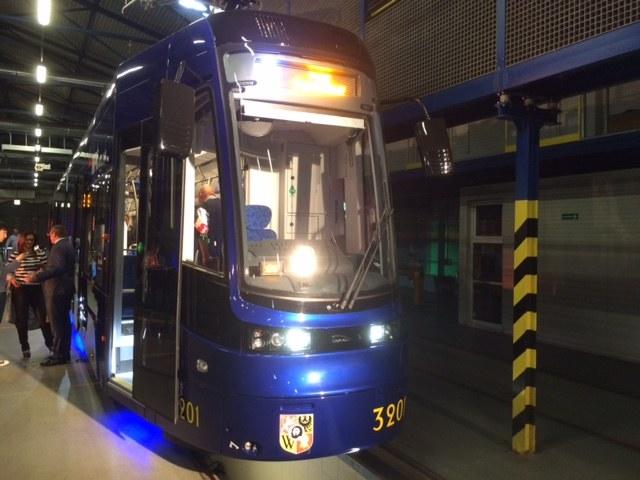 Nowe tramwaje kosztowąły 64 mln zł /Bartłomiej Paulus /RMF FM
