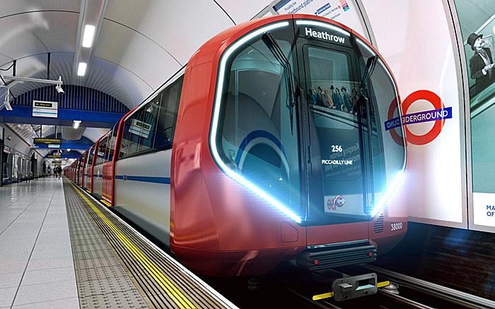 Nowe wagony londyńskiego metra /materiały prasowe