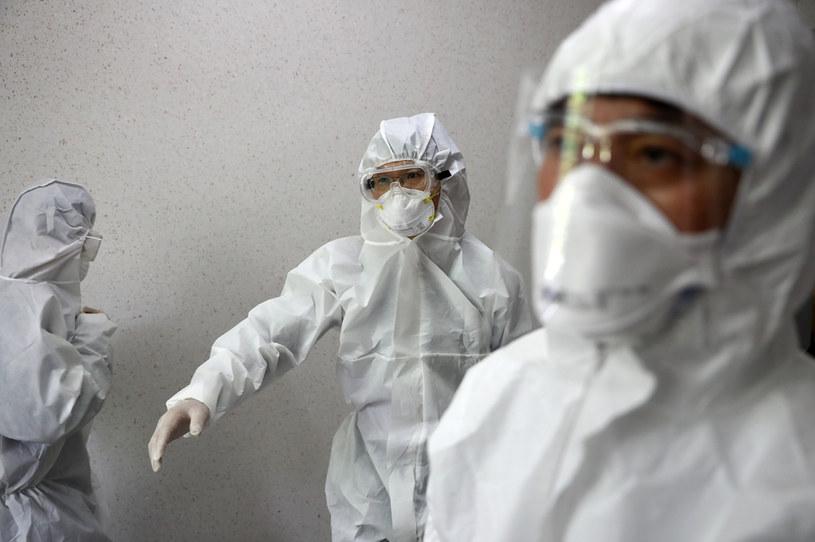 Nowe zakażenia koronawirusem w Korei Południowej /Chung Sung-Jun /Getty Images