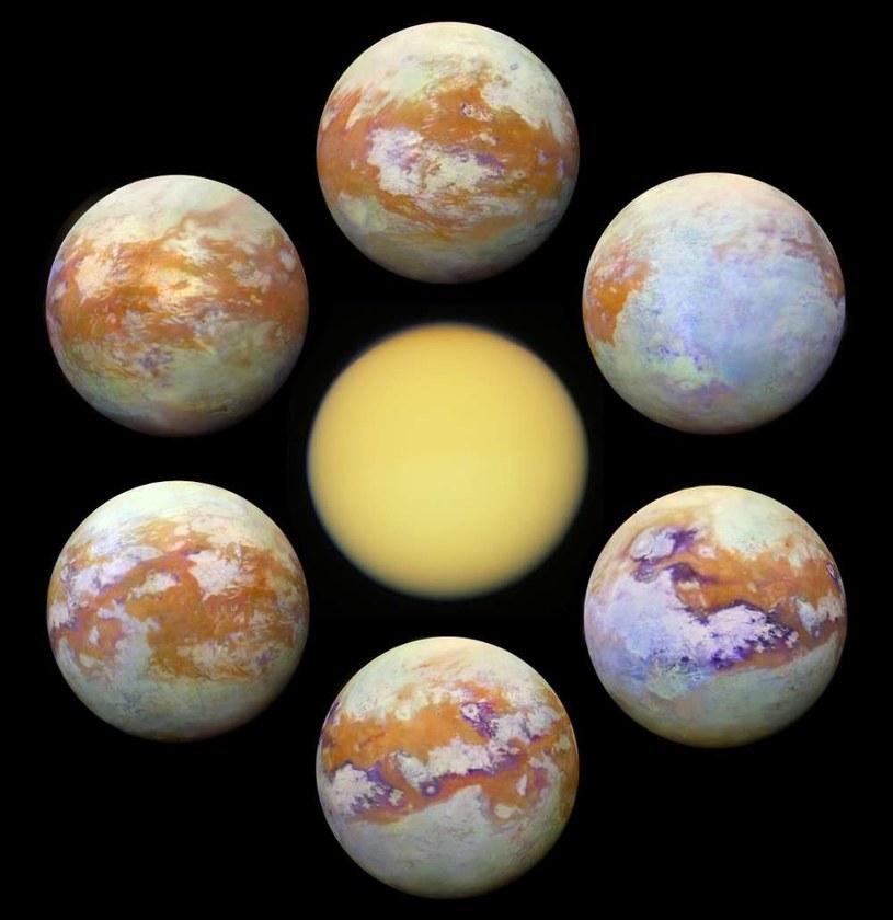 Nowe zdjęcia Tytana wykonane przy pomocy sondy Cassini /NASA