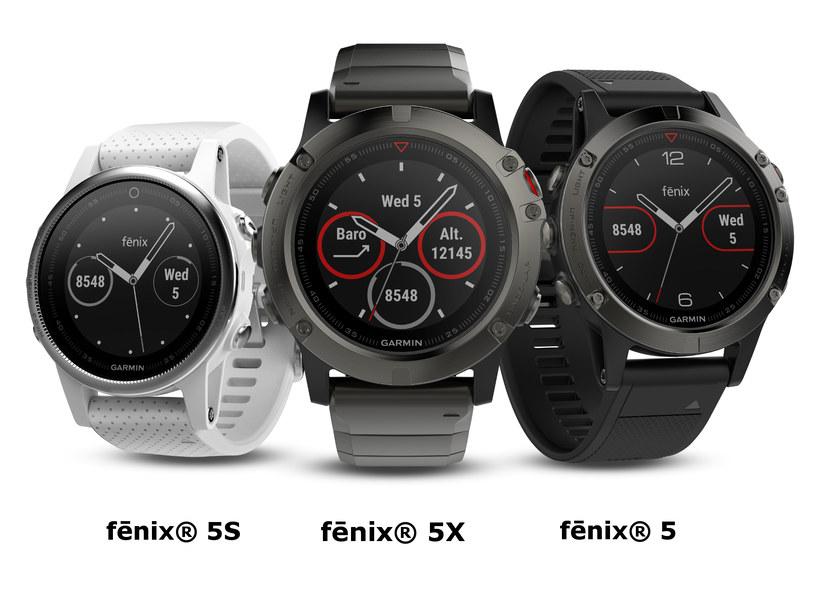 Nowe zegarki Garmin /materiały prasowe