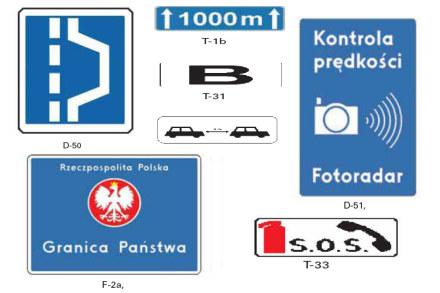 Nowe znaki drogowe /INTERIA.PL