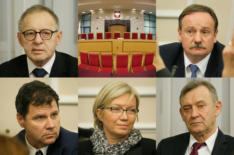 Nowi sędziowie TK /Paweł Supernak /PAP