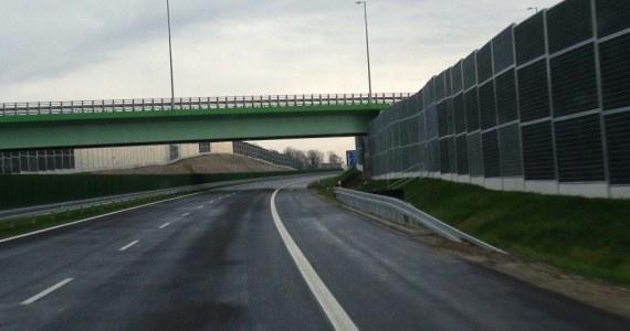 Nowo oddany odcinek autostrady A4 /Jacek Skóra /RMF FM