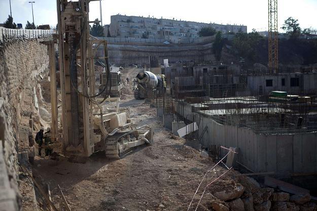 Nowo powstające osiedle żydowskie /AFP