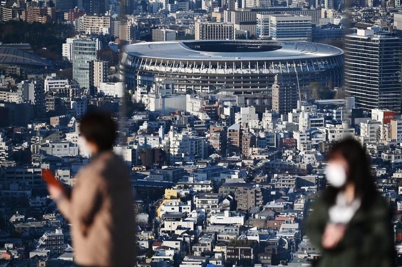Nowo powstały japoński Stadion Narodowy musi poczekać rok na igrzyska /CHARLY TRIBALLEAU  /AFP