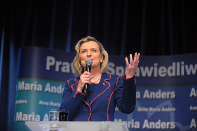 Nowo wybrana senator Anna Maria Anders zapowiada, że zajmie się bezpieczeństwem i infrastrukturą na Suwalszczyźnie /Przemysław Piątkowski /PAP