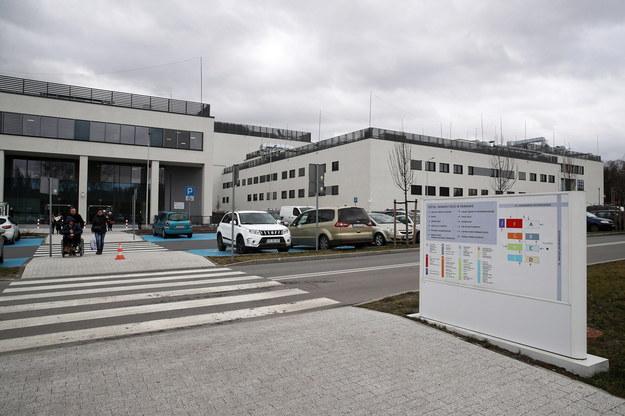 Nowo wybudowana siedziba Szpitala Uniwersyteckiego w Krakowie //Łukasz Gągulski /PAP