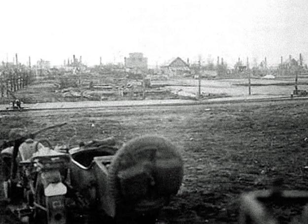 Nowogród po zajęciu przez Niemców /Polska Zbrojna