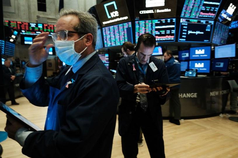 Nowojorska giełda, Wall Street. /AFP