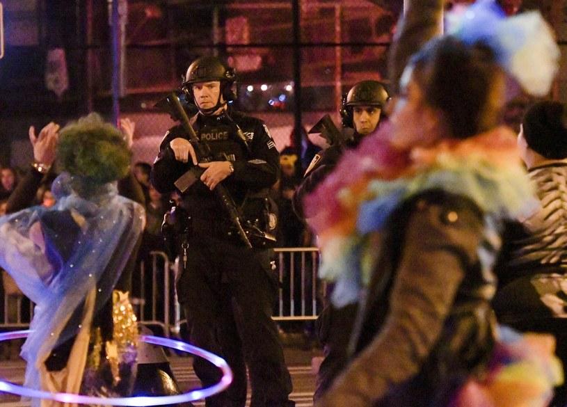 Nowojorska parada z okazji Halloween w cieniu zamachu /PORTER BINKS /PAP/EPA