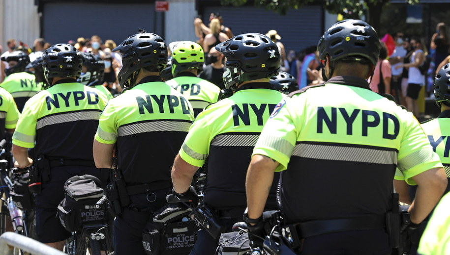 Nowojorska policja /Peter Foley /PAP/EPA