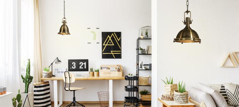 Nowojorski trend mieszkań urządzonych w loftowym stylu nie może obyć się bez lamp /materiały prasowe