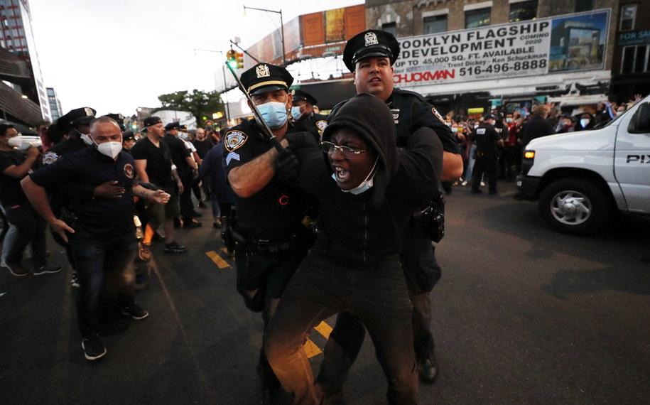 Nowojorskie protesty /JUSTIN LANE /PAP/EPA